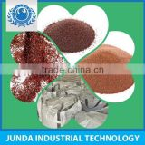 low dust level SiO2 37.77% garnet sand 80 mesh used for water jet cutting in gas pipelines