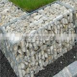 "3/4""inch galvanized welded wire mesh welded retaining wall stone gabion cage with CE certificate"