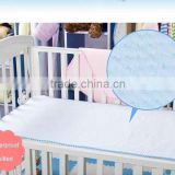 Factory Direct Sale Waterproof Cotton Baby Summer Cool Crib Mattress Pad