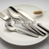 18/10 304 High Quality Black/Rose Gold/Gold Plated Set Cutlery with PVD titanium coating