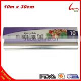 10m x 30cm Heavy Duty Disposable Household Kitchen Use Food Packaging Catering Aluminum Foil Roll