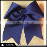 Wholesale Monogrammed Personalized Grosgrain Cheer Bow Style