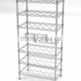 7 Tier Chrome Metal Wire Shelving Rack