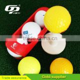 Wholesale blank new golf ball practice golf ball