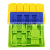 Colorful Food grade silicone ice cube tray,Custom silicone ice tray,Novelty silicone ice molds