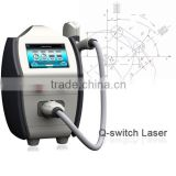 Mini ND YAG Laser Tattoo Removal Machine For Eliminating Spot / Freckle / Pigment Age Spot Removing