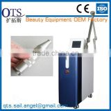 China Vertical Nd yag laser tattoo removal & black diomand cream laser machine for beauty salon