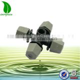 Greenhouse Plant Misting Cross atomizing nozzle sprinkler