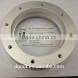 custom made aluminum spacer sleeve for industrial machinery