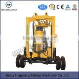 100m 200m water well drilling rig ,tractor drilling machine with mud pump and all accessories