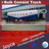 3 Axles Bulk Cement Tank Semi Trailer,Cement Bulker Trailer Truck,Bulk Cement Trailer