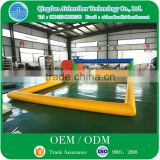 Commercial Grade Outdoor Water Games Inflatable Beach Volleyball Court For Sale