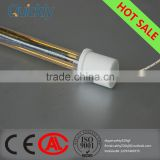 infrared heater parts quartz lamp for glass spraying with 20000 hours warrant,economy and environmental protection