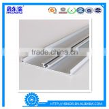 China Xindongrui aluminum factory high quality aluminum extrusion profile for kitchen cabinet skirting board/baseboard