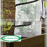Pop-Up Tomato Plant Protector Serves as a Mini Greenhouse to Accelerate Growth,Pop Up Garden Bag