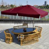 home garden supplies wholesaler 2.5*2.5/3*3/3.5*3.5m patio sun beach umbrella parts marble garden outdoor bistro umbrella