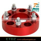 Red High polish Aluminium Alloy 6061 wheel spacer for Toyota Honda VW Suzuki