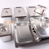 All Size Stainless Steel Gastronorm Container Gn Pan Hotel Ice Cream Container Sales Factory Price