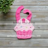 baby waterproof bibs cute shped bibs