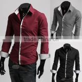 Wholesale walson Cotton Formal Full Sleeve High end men's dress shirt apparel