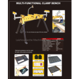 woodworking mutifunctional clamp bench