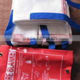 Fiber glass fire blanket with PVC bag-Hot sale