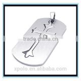INquiry about XP-MP-099376 FACTORY PRICE Wholesale metal cross cheap dog tag necklace
