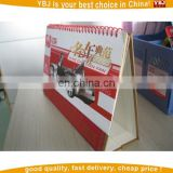 2015 custom table calendar and desk calendar printing factory wholesale calendar printing