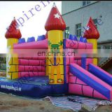 bouncer slide inflatable toys,inflatable bouncer with slide CC036