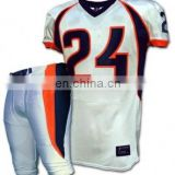 american football uniforms tackle twill / Embrioder / Sublimation