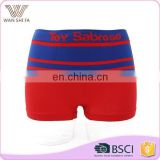 Newest underwear 92% nylon 8% spandex wholesale funny plain mens cheap boxer shorts