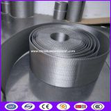 SS302 Automatic Continous Belt Screen Filter Mesh for food packaging filteration
