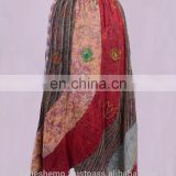 Beautiful Exotic Bulky Multicolored Summer Long Dress HHCS 122 B