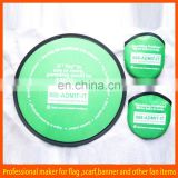 custom promotion fabric flying disc