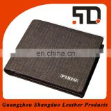 Realiable Quality Top Brand Handmade Fabric Cover Men Wallet Wholesale