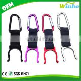 Winho Aluminum Carabiner Water Bottle Drink Buckle Hook Holder Clip For Traveling Outdoor