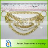 Wholesale gold Crystal Rhinestone metal Bikini Connectors - Fitness / Bikini Model Comps