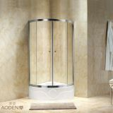 Quadrant Tempered Glass Sliding Door Shower Room