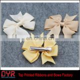 Hot selling unique children clips easter hair bow for decoration
