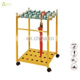Eco-friendly wet umbrella display stand rack