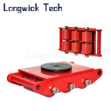PU Wheel Carrying Load Skids Transport Platform Skates Roller Trolley
