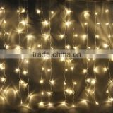 9.8ft 300 LED Weatherproof Freeze-proof Outdoor String Light Curtain Light for Christmas Xmas Wedding Party Home Deco HNL099