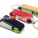 Factory Wholesale Leather USB Flash Drive 1GB-64GB