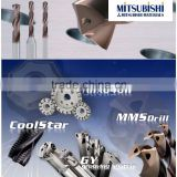 All of Mitsubishi solid drills enhance your metal cutting process by high-accuracy and high-quality