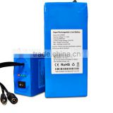 12v lithium cctv battery with 2000cycle 12v li ion battery pack for cctv security system/led light strip and solar system