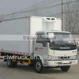 Low Price and Safe refrigerated truck body,4x2 Refrigeration Transport Truck for sale in Bolvia