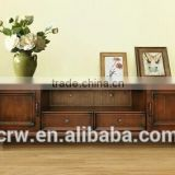 Y-1466 wholesale solid wooden furniture tv stand corner
