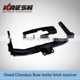 SUV 4X4 steel black rear trailer hitch receiver for grand cherokee, made of steel with black color from Kaizhi manufaturer