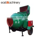 JZC350 Roller Drum Concrete mixer with Hydraulic type diesel engine mobile concrete mixer