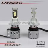 Double heat dissipation design car accessories 36w led 12v CREEs lamp use aviation aluminium 6063